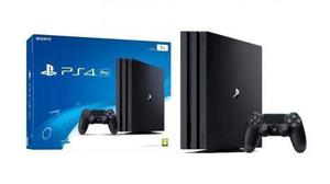 Rosario Consola Sony Ps4 Pro 4k 1tb Local Al Publico Stock