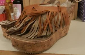 Sandalias de flecos N° - Macrocentro.