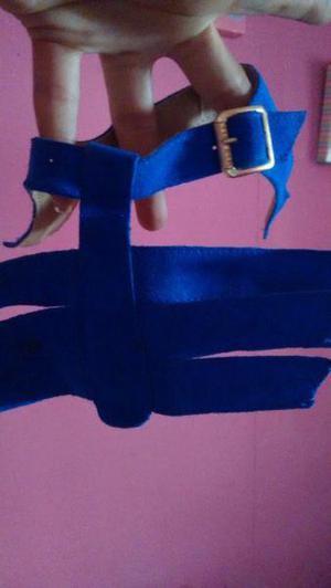 Vendo Cortes para armar zapatilla y sandalia lista para