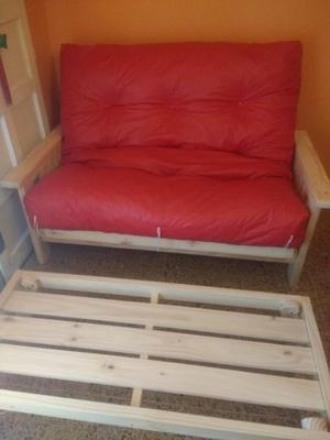 Vendo futón cama de dos cuerpos sin uso