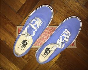 Zapatillas Vans, muy poco uso