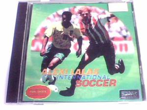 Alexis Lalas International Ps1 Y Ps2 Chipeada Disco Plateado