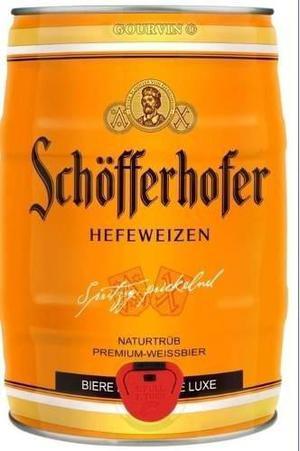 Barril 5 Lts Cerveza Alemana Schofferhofer
