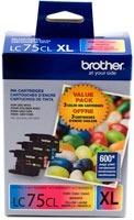 Brother Lc753pks, Xl Cyan / Magenta / Amarillo
