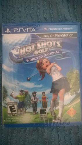 Hot Shots Golf™: World Invitational PS Vita