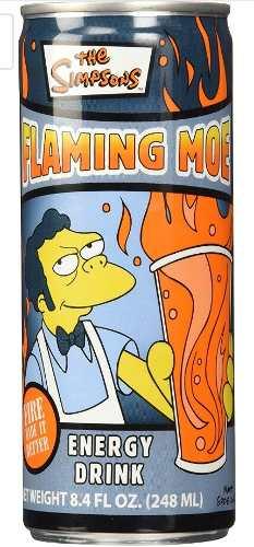Los Simpsons Llamarada Moe Lata