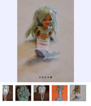 Muñeca Barbie Fairytopia Mermaidia hermosa.... MUY BUEN