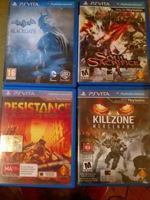 Pack De Juegos Ps Vita