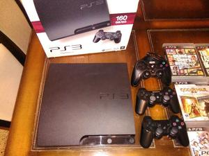 Play station gb 13 juegos 3 joystick impecable