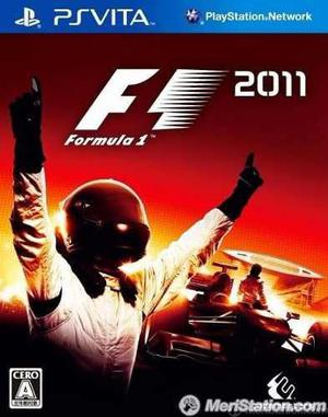 Psvita F1 Formula 1 Original Ps Vita Tomo Usados!