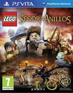 Psvita Lego Señor De Los Anillos Ps Vita Tomo Usados