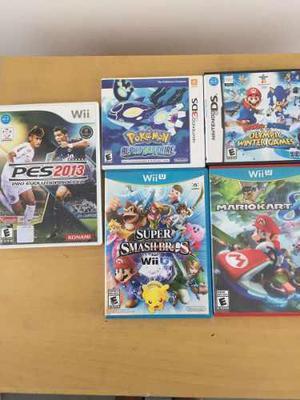 Super Smash Bros, Mario Kart 8, Pokemon Alpha Sapphire