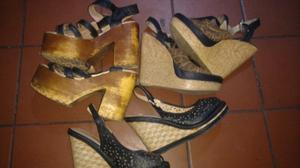 Vendo lote de calzado de mujer numero 37