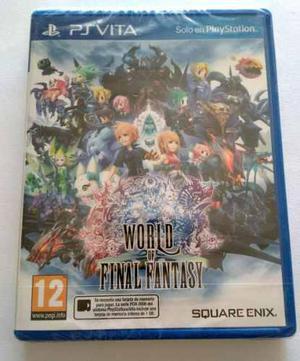 World Of Final Fantasy - Original Ps Vita