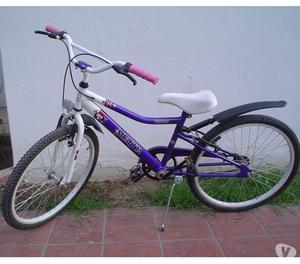 Bicicleta Musetta Mod Fantasy Violeta niña Rod 24 IMPECABLE