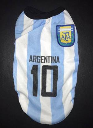 Lote De Remeras De Argentina Para Mascotas
