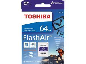 Memoria Sd 64gb Clase 10 Wifi Toshiba Flashair