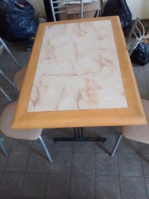 Mesa de ca o posot class - Sillas de comedor usadas ...