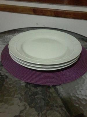 Platos (3) porcelana verbano los tres a $150