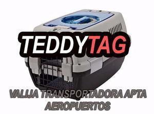 Transportadora Medianas (avión) X 6u - Art. Mascotas X