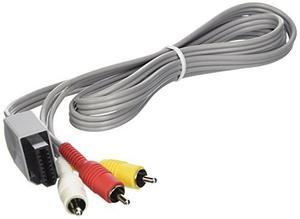 8 'rvl-009 Stereo A / V Cable Para Nintendo Wii