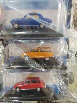 Autos Salvat Inolvidables Argentinos 1/43 Combo X 3 + Envio