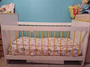 CUNA de bebé con COLCHON