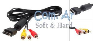 Cable Audio Video Para Play Station 2