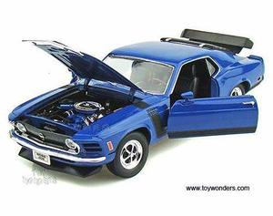 Ford Mustang  Metal Escala 1:18 Excelente Calidad Welly
