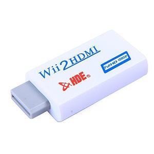 Hde Wii A Hdmi Convertidor Adaptador p Hd Video Salida D