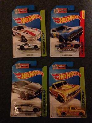 Hot Wheels Originales Nuevos Blister Autitos Coleccionables