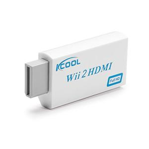 Kcool Wii Al Convertidor De Hdmi Adaptador Audio Video De La