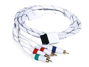 Monoprice 6-pies Audio Video Ed Component Cable Para Wii Y W