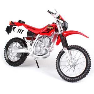 Moto Honda 400r Cross Coleccion Metal Esc1:18 Original