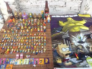Permuto lote muñecos colección sinpson