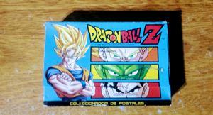 Postales coleccionables de Dragón Ball Z