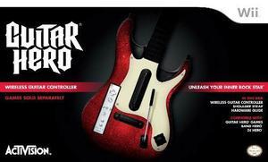 Wii Guitar Hero Guitarra 5 Autónoma