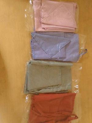 bolsita de higiene, mantel y servilleta $50
