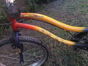 Bicicleta de niño AXA con rueditas y bocina