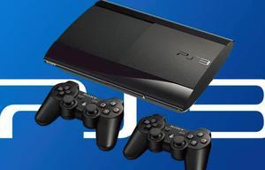 PS3 CON 2 CONTROLES INALAMBRICOS