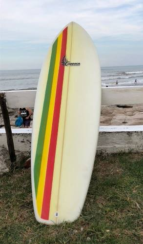 Tabla De Surf Marca Danka Surf Boards Retro Fish Y Squash