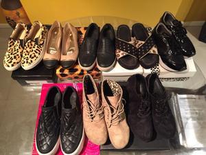 Vendo zapatos de mujer con poco uso y en buen estado!