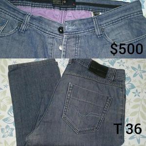 pantalón de jean, hombre, marca rash talle 36