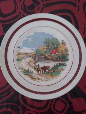 Platos decorativos antiguos