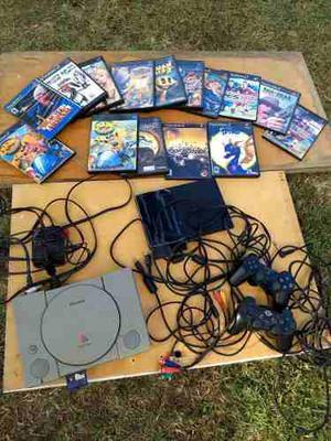 Playstation 1 Fat Y Playstation 2 Slim