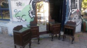 Antiguos muebles de estilo chipendal