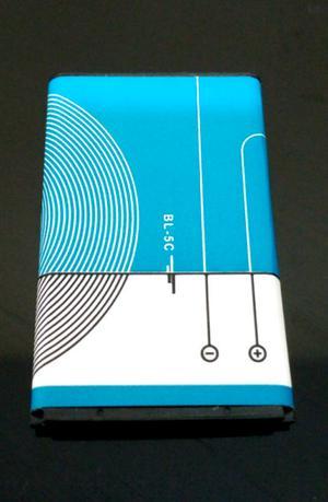 Baterías BL 5C de 3.7v. Compatible con Nokia.