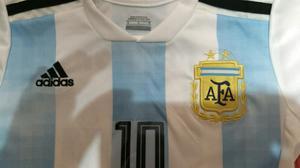 Camiseta Argentina Mundial Rusia  Niños