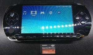 Consola Portatil Sony Psp- Fat 16gb - Juegos En Memoria