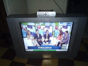 VENDO TV 29 PANTALLA PLANA MARCA HITACHI IMPECABLE ESTADO